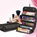 Roll n Go Travel Cosmetic Make Up Jewelry Toiletry Foldable Bag Organizer