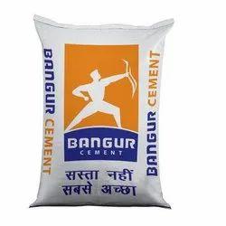 Bangur OPC 43 Grade Cement, Packaging Type: HDPE Sack Bag