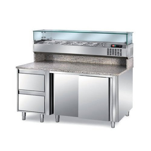 Pizza Preparation Refrigerated Table