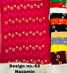 Nazmin Zari Thread Embroidery Dupatta