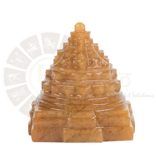 Yellow Quartz Shree Yantra