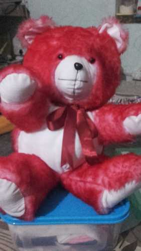 b4983e342188 Crimish Red Colour Teddy Bear
