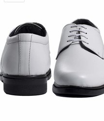 White Men Derby Shoes