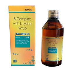 B-Complex With L-Lysine Syrup