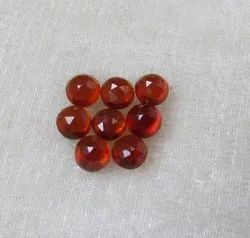 Hessonite Garnet Rose Cut