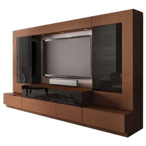 Tv Stand Designs And Prices In Chennai : Brown black modular tv cabinet rs piece elite