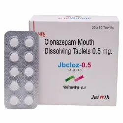 Clonazepam 1.mg  Mouth Dissolving Tab