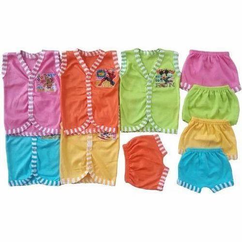 6d9df1e03c54 Multicolor Cotton Kids Jabla And Shorts