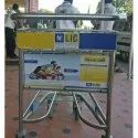Airport Trolley Advertisement