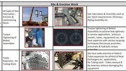 Metal Mild Steel Onsite Erection Service