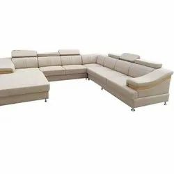 Modern Foam U Shape Corner Sofa Set