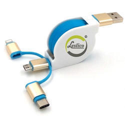 Pullable Data Cable With Type C-2