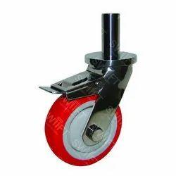 Pin Mounting Brake Caster Wheel