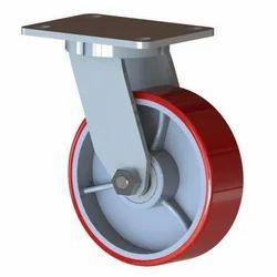 Polyurethane Coated C.I. Castors Wheel