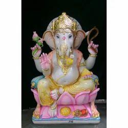 Multicolor Ganesh Statue