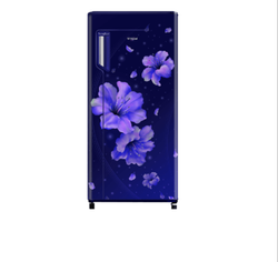 Whirlpool Icemagic Fresh 215L Single Door 3 Star Sapphire Hibiscus Refrigerator