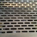 Aluminum Oblong Hole Perforated Sheet