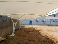 Tensile Roof Car Parking Structure
