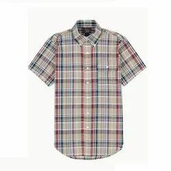 1974dfd07a04 Checks Men Readymade Half Sleeve Shirts