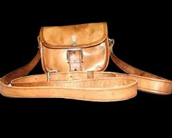 Small Curve Leather Sling Bag