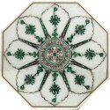 Octagonal Coffee Table Top  Marble Inlay Tables Top