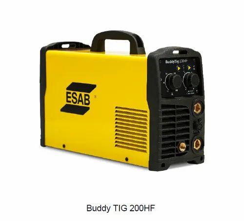 Esab Buddy Tig 200 Hf Welding Machine 220 V Rs 30000 Unit Shree Equipment Controls Id 21978817430