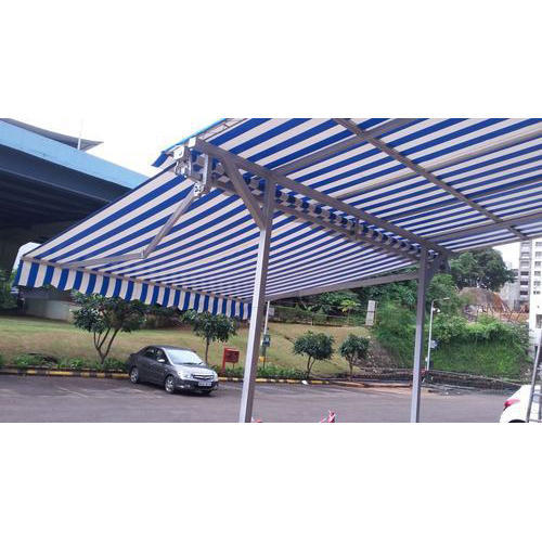 best service 22c50 d2805 Commercial Retractable Awning