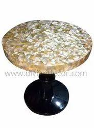 Sea Shell Inlay Coffee Table