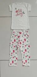 Kids Wear With All-Over Print Girls, Age: 2-8 Years