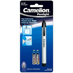 Camelion DL2AAAS Aluminium Slim Penlight