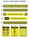 Covide Safety Posters 9X12