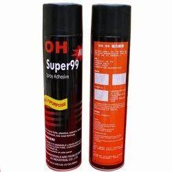 Adhesive Spray, 600 ml, Bonds Foils, Plastics, Papers, Foams, Metals Cardboard,