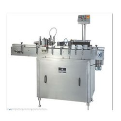 Fully Automatic Double Head Sticker Labeling Machine For Round & Flat Bottles