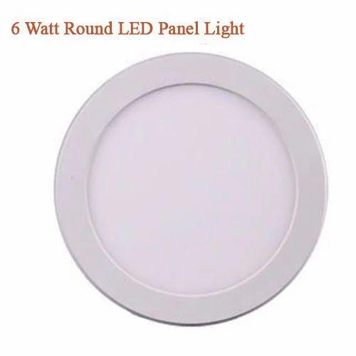Upe 6 Watt Round Led Panel Light Rs 440 Piece Upe India Id