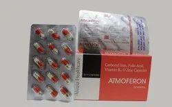 Carbonyl Iron, Folic Acid Vitamin B12 and Zinc Capsules