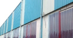 Unloading Dock Curtains