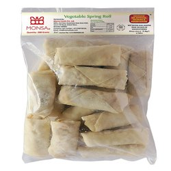 Vegetable Spring Rolls, 500 Gms, Packaging Type: Box