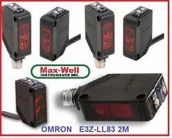 Omron E3Z-LL83 2M Photoelectric Sensor