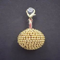 Traditional Pom Pom Keyring