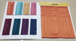 KHUSHALI Cotton Silk ANAISHA (SYNTHETIC FABRIC)