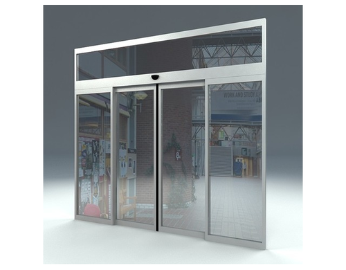 Glass Automatic Sliding Door Rs 45000 Piece Lokpal