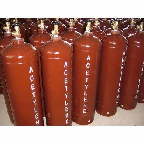Dissolved Acetylene Gas Cylinder, डिसॉल्व्ड एसिटाइलीन