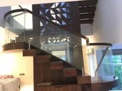 Metal Floating Staircase