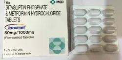Janumet 50 mg/1000 mg