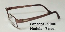 TR 9000 Sides and Metal Front Designer Optical Frames