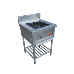 The High Kitchen Stainless Steel Single Burner Range