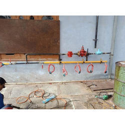 Brass Gas Pipeline Fitting Service