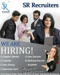 Graduate 500 Placement Agency For Recruiting Computer Operator, Data Entry, Pan India