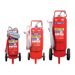 Dry Powder Trolley Mounted Fire Extinguishers