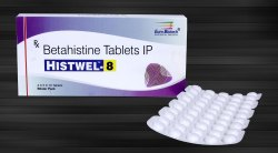 Betahistine Hydrochloride 8 mg & 16 mg